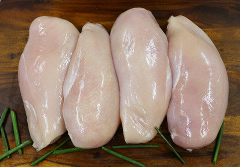 Chicken Breast Fillets  20kg - $8.40kg- 5 x 4kg Cryovac Bags