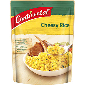 Continental Cheesy Rice 125g, $2.10ea