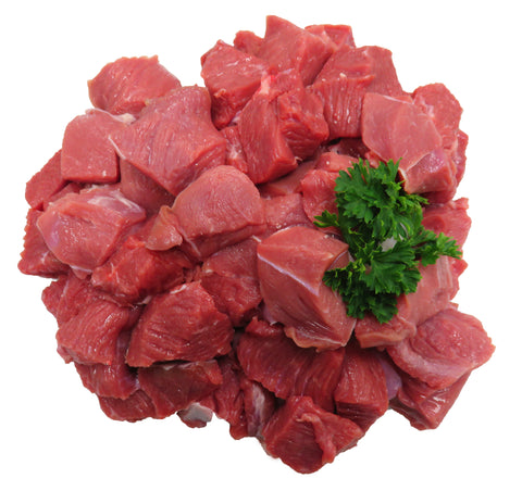 Diced Lamb Extra Lean Min buy 1kg/$29.99kg