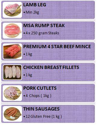 Pack - Family Weekly Meat