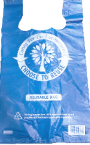 Carry Bags - reusable enviroment friendly 500 per box