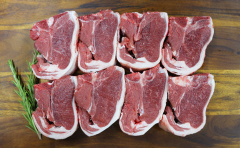 Lamb Loin Chops Min Buy 1kg / 24.99kg