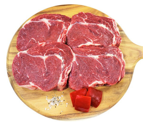 Food Service Scotch Fillet 200 Grams 20 Peices MSA 30 Day Aged Grain Fed