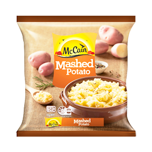 McCain Frozen Mashed Potato 1kg, $5.00ea