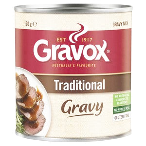 Gravox Traditional Gravy Mix 120g, $3.30ea
