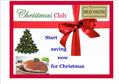Christmas Club - Start saving now for Christmas -  $25.00 Voucher