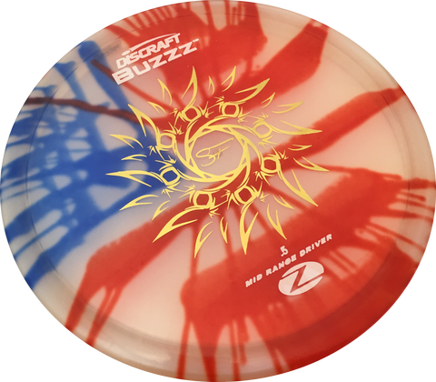 "ELITE Z FLAG DYED BUZZZ ""SF Indian Sun"" Stamp"