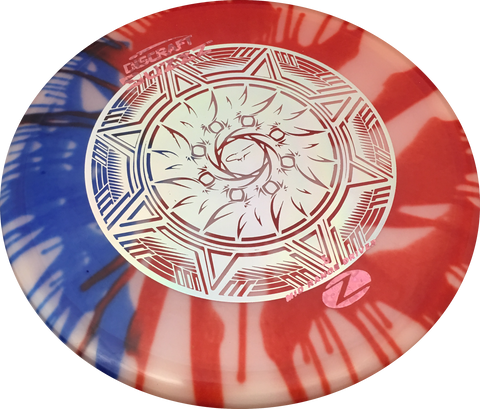 "ELITE Z FLY DYE BUZZZ ""SF Aztec Sun v2"" Stamp"