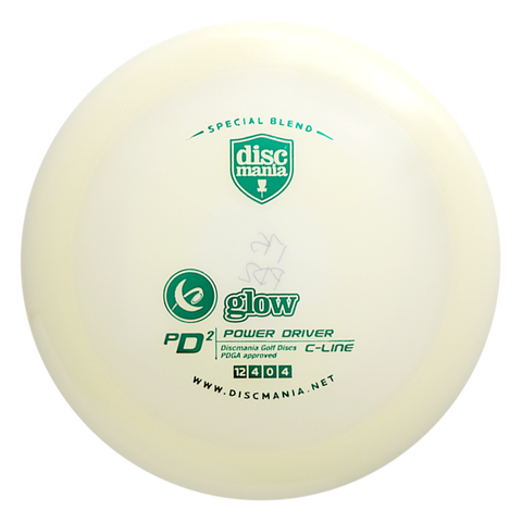 "GLOW C-LINE PD2 ""Discmania Store"" Stamp"