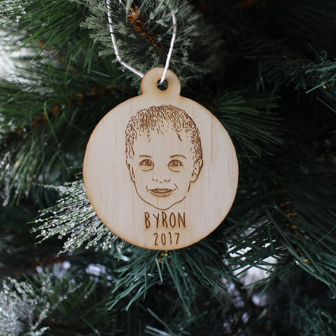 Personalised Sketch Ornament