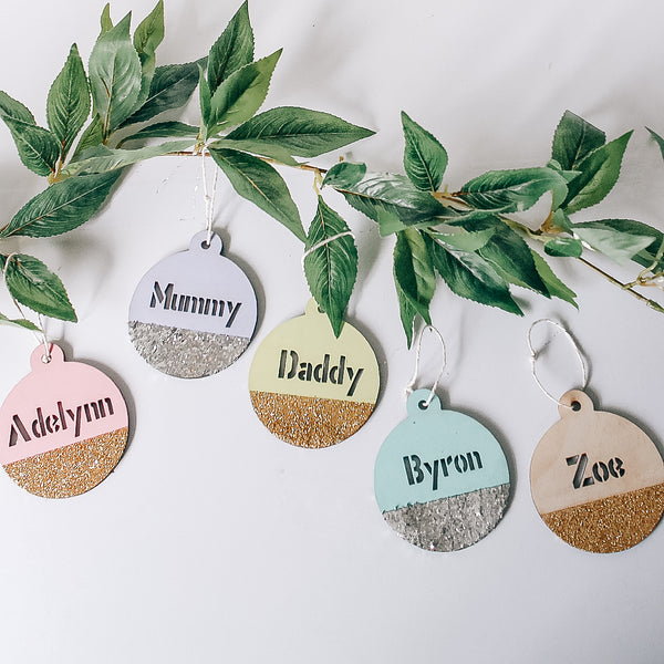 Personalised Name  Bauble