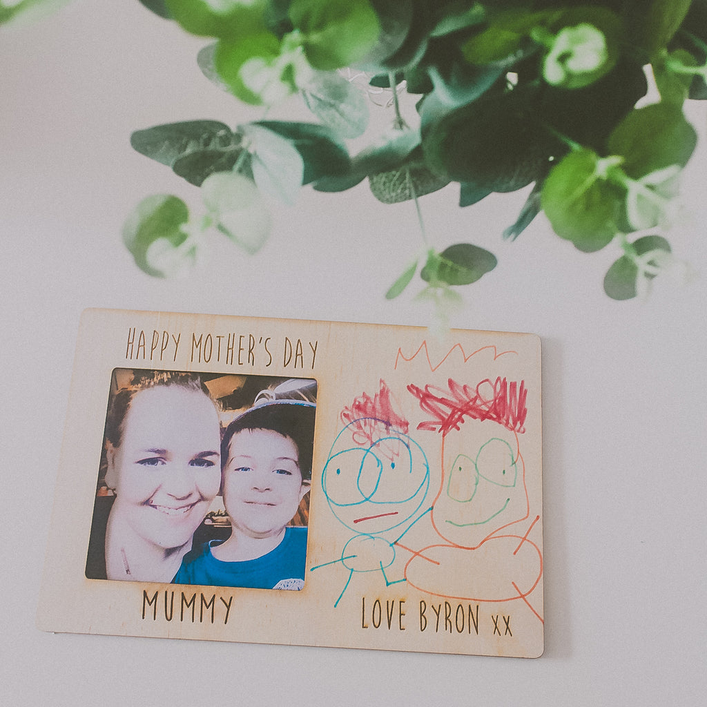 Mother's Day DIY art frame ( Personalised)