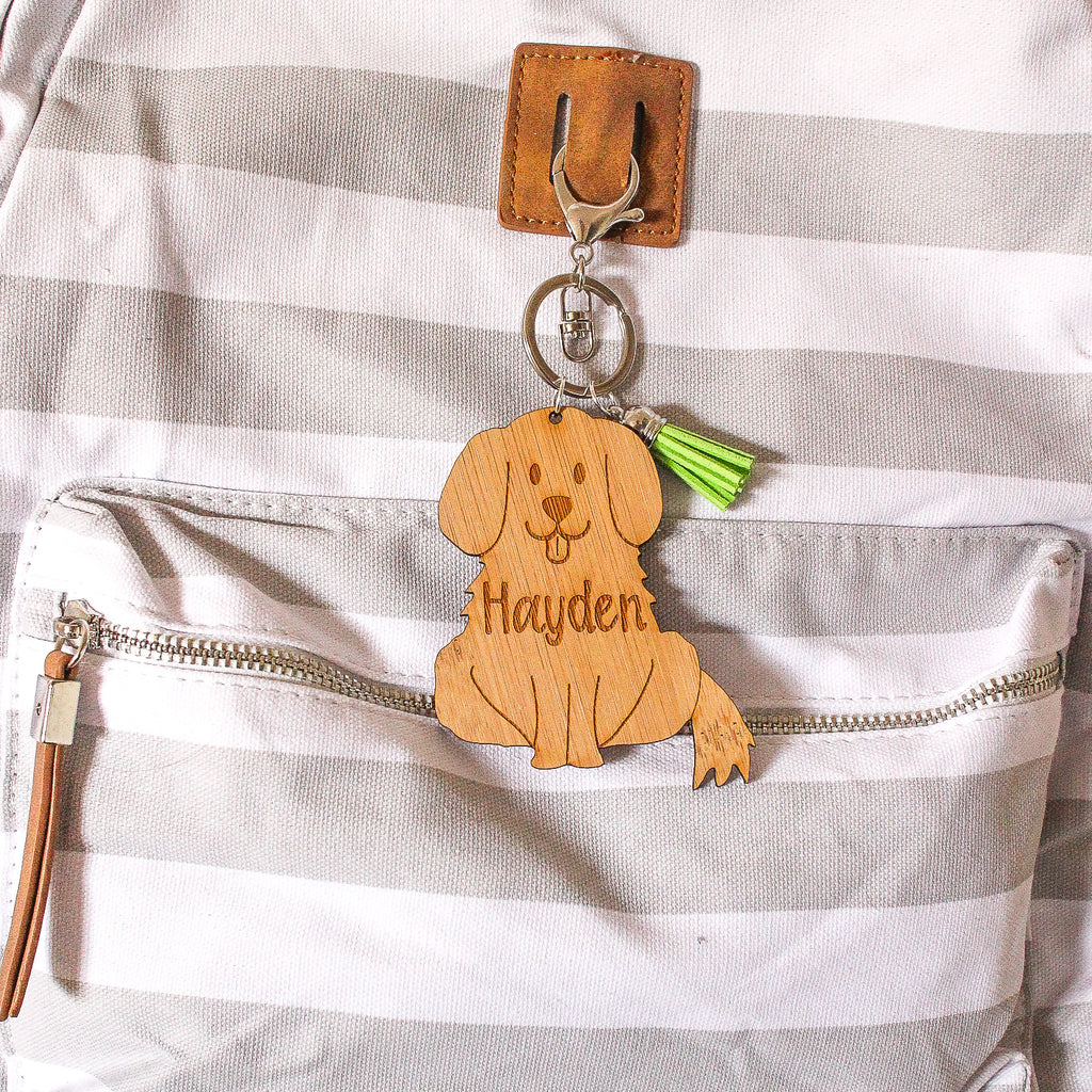 Personalised Bag Tag - Dog