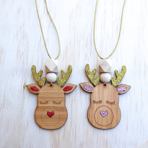 Reindeer Kids Necklace