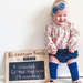 Personalised Chalkboard Signs (Milestone Board)