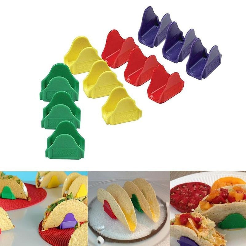 12PCS Plastic Taco Holders Kitchen Cooking Tools