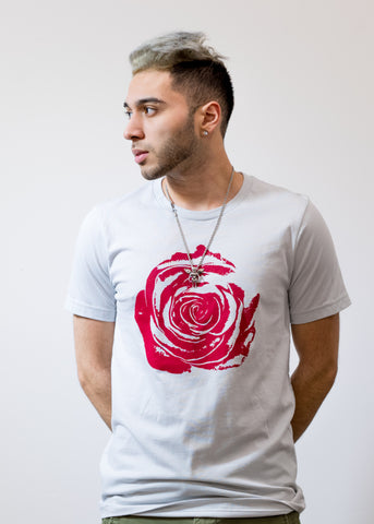 Constant Brand | Rose on Steel Tee