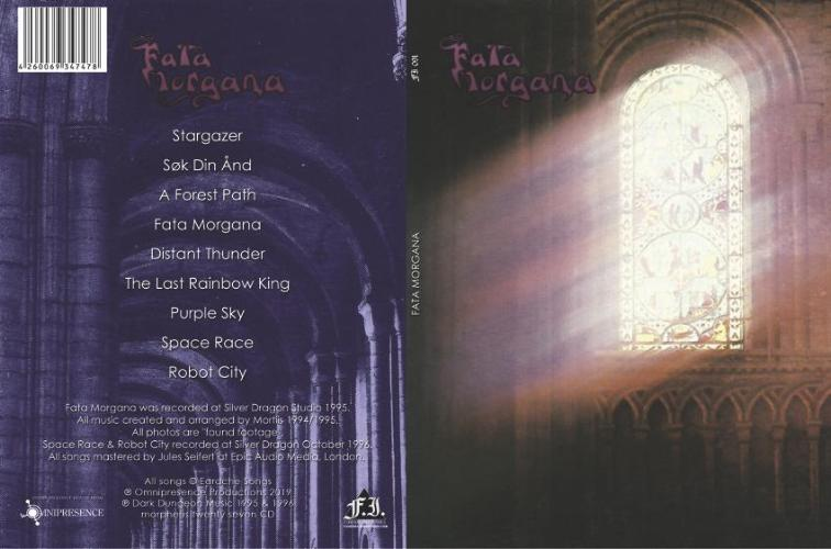 Fata Morgana CD with Bonus Tracks Pre-Order