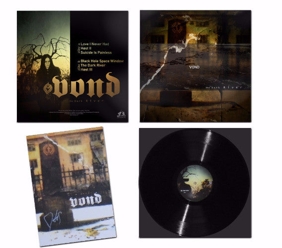 "VOND ""The Dark River"" LP (black and blue vinyl)"