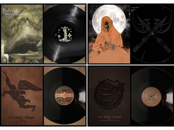 Fata Morgana - Cintecele Diavolui - Blood and Thunder LP Bundle
