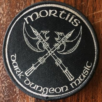 Dark Dungeon Music Woven Patch