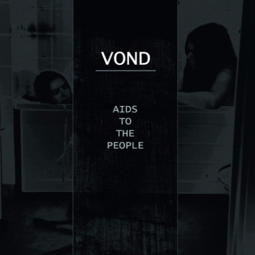 "VOND ""AIDS to the People"" LP (black and blue vinyl)"