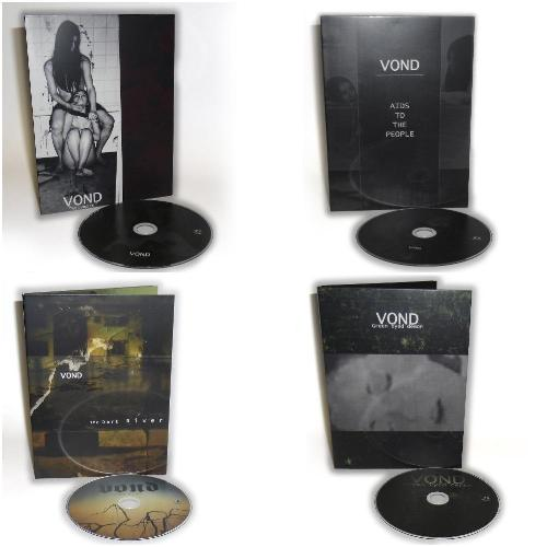 Vond 4 Digipak CD Bundle