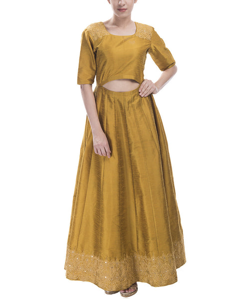 Cut-Out Floor Length Anarkali