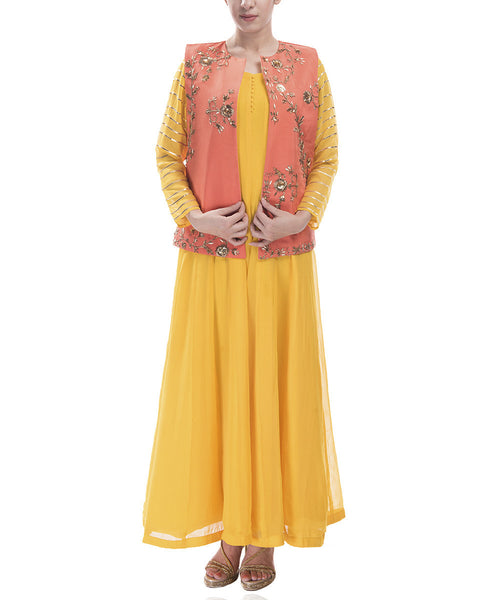 Short Jacket Anarkali
