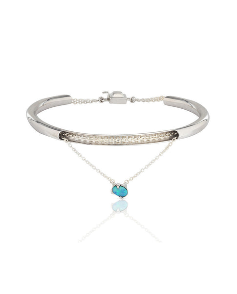 Surrender Bangle (Silver)
