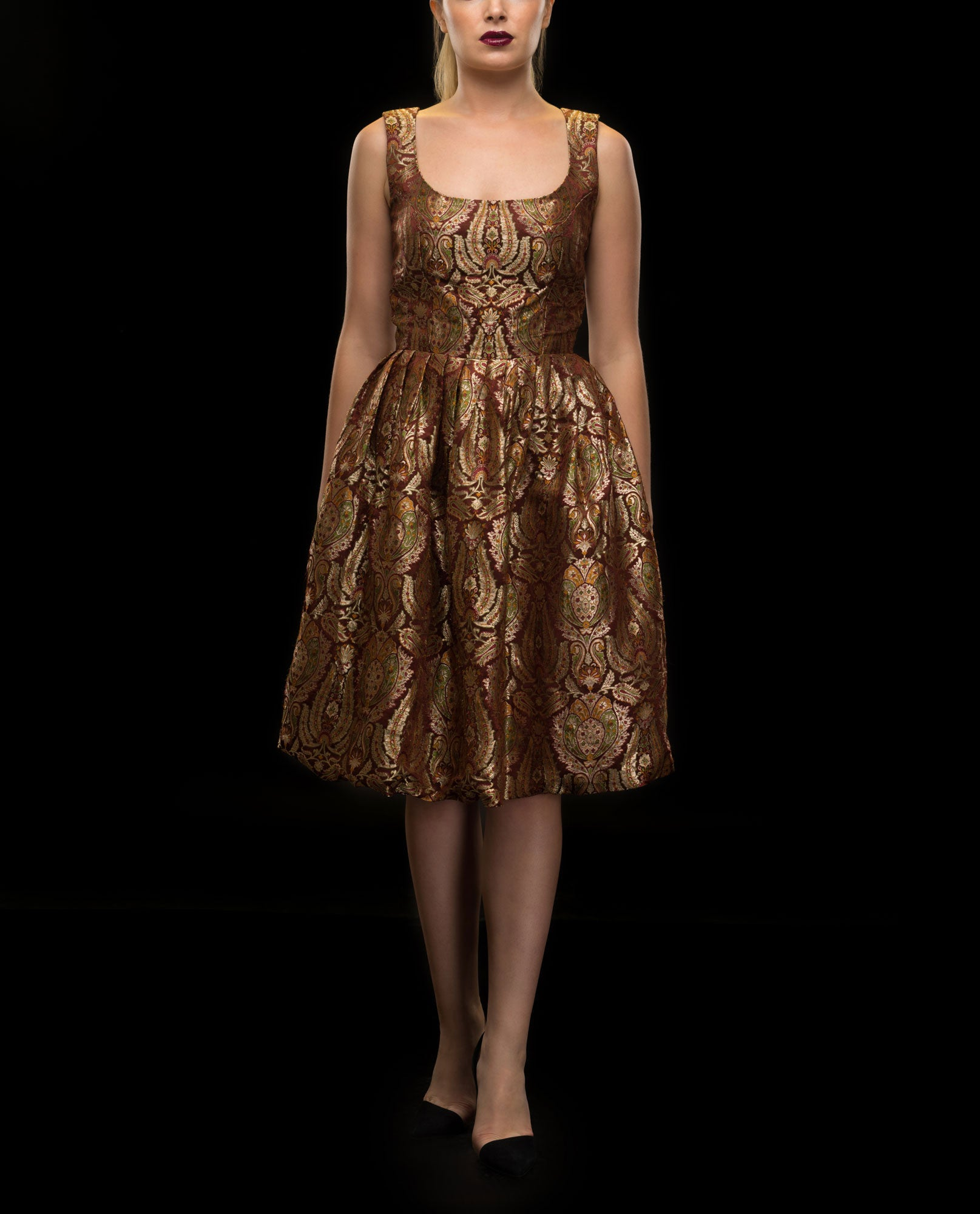 Dresses - Brocade Dress