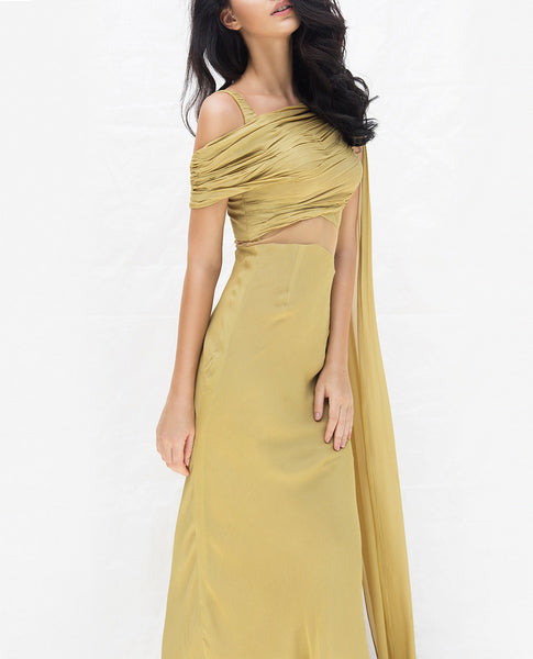 Willow Saree Gown