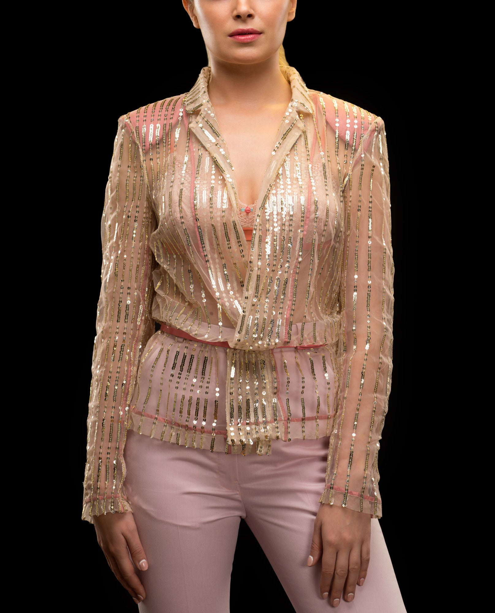 Jackets - Sequinned Jacket