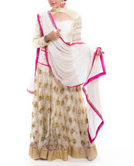 Lehenga Set - White Bride
