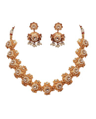 Necklace And Earrings Set - Necklace And Earrings Set
