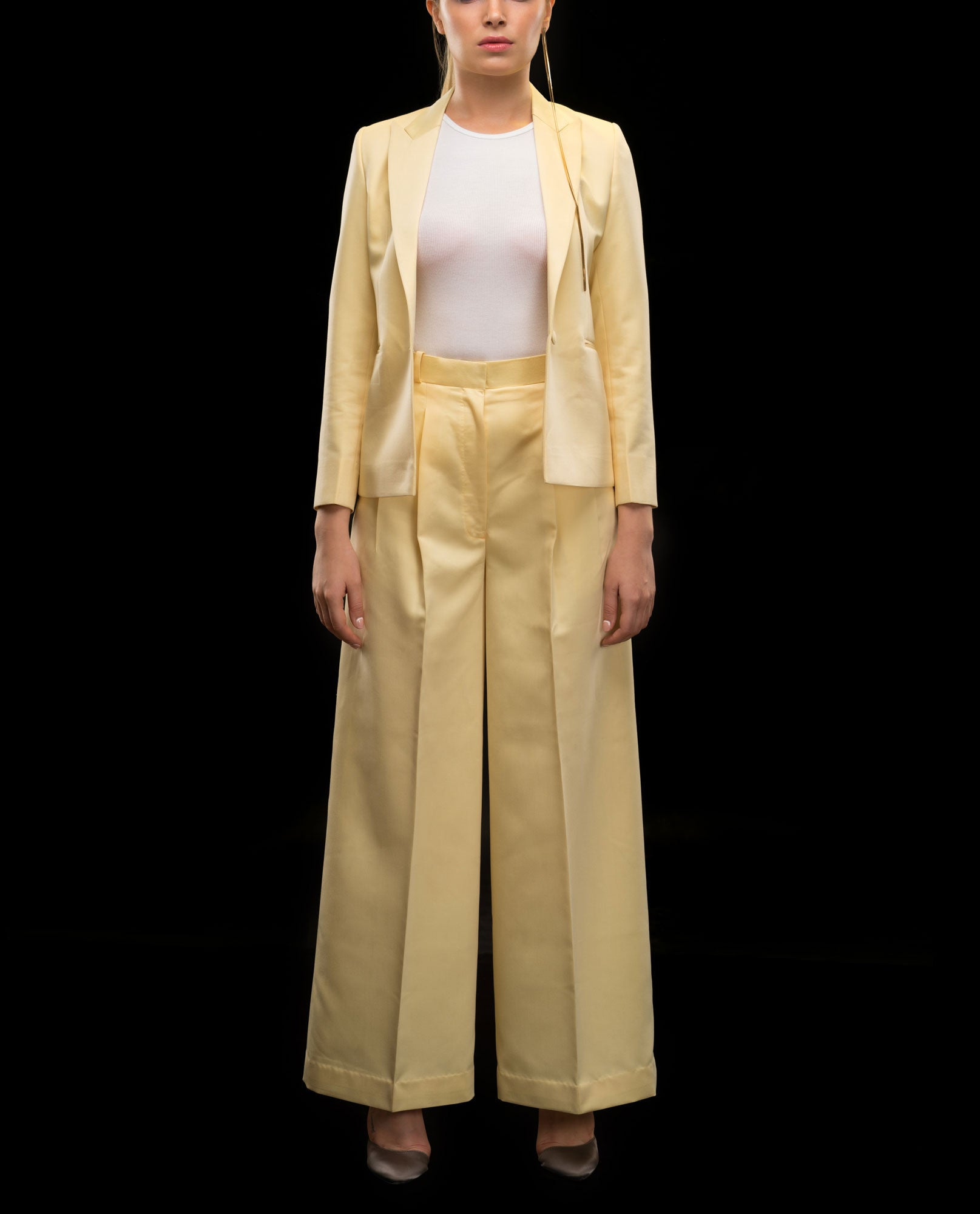 Pant Suits - Silk Pant Suit