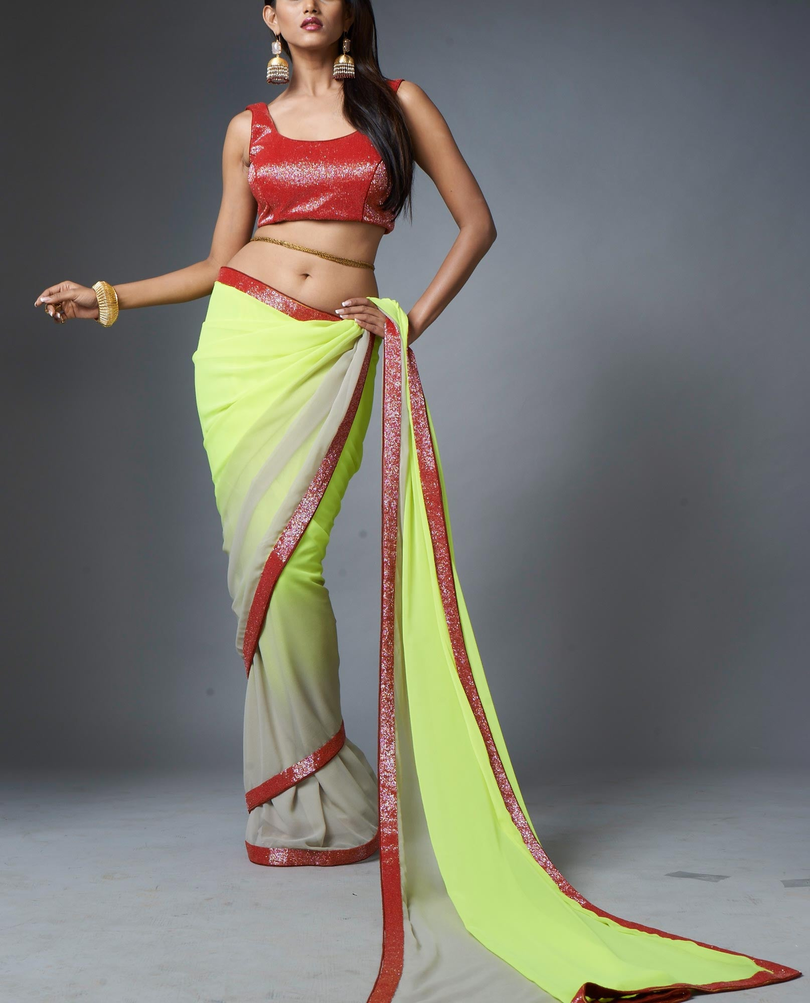 Saris - Shaded Sari