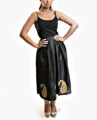 Skirts - Raw Silk Midi