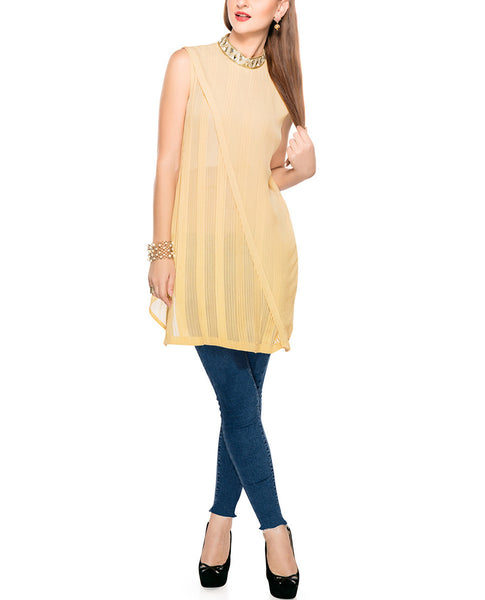 Pure Georgette Tunic Top