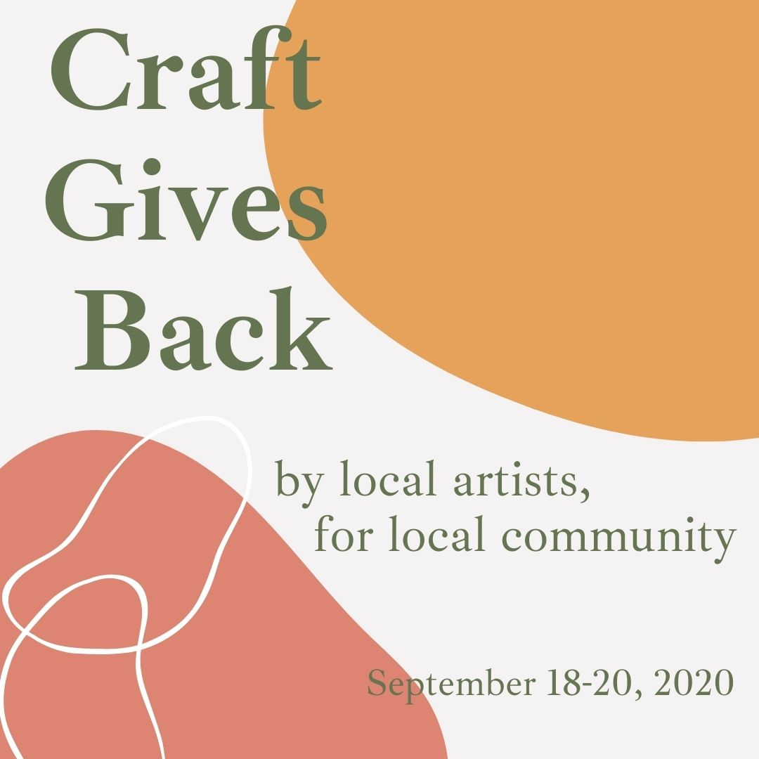 Craft Gives Back, an auction for justice