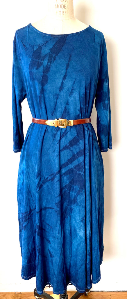Dress // Indigo A-line XL only