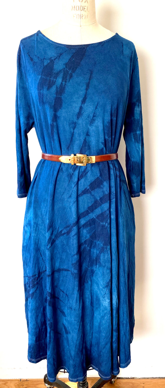 Dress // Indigo A-line 3XL only