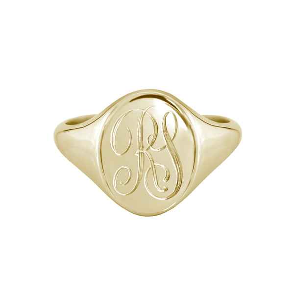 initial signet ring