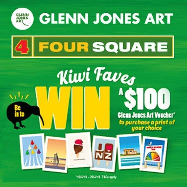 Kiwi Faves Four Square Promotion