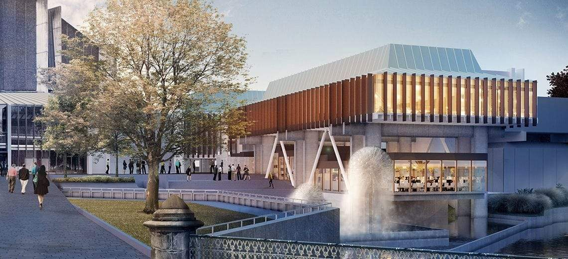 Image of Refurbished Christchurch Town Hall - Vbase