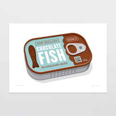 Canned Fish Art Print