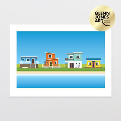 Glenn Jones Art Bach Life 2 - A2 Limited Edition Art Print A2 Print