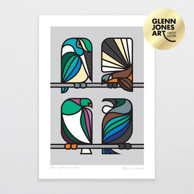 Simply Natives - A2 Limited Edition Art Print-Glenn Jones Art