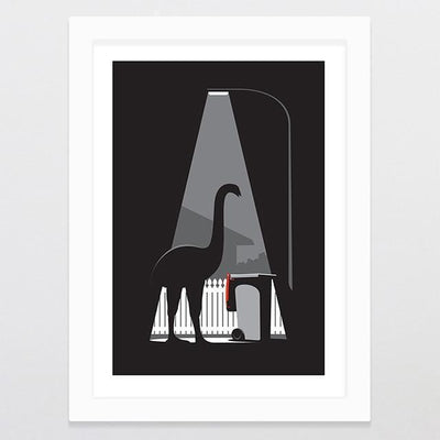 Urban Moa - Limited Edition Art Print-Glenn Jones Art