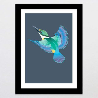 Glenn Jones Art Skyward - Limited Edition Art Print Art Print A3 Print / Black Frame